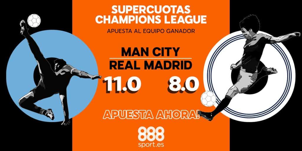 Supercuota 888sport Real Madrid