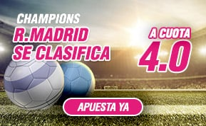 Supercuota Wanabet Real Madrid Champions