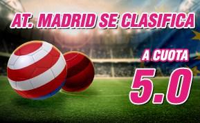 Supercuota wanabet Atlético Champions League