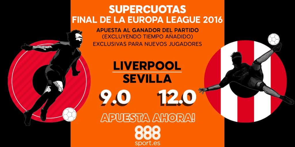 Supercuota 888 sport final europa League