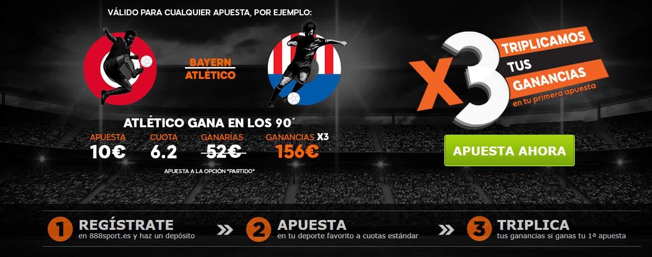 Supercuota Bayern - Atlético 888sport