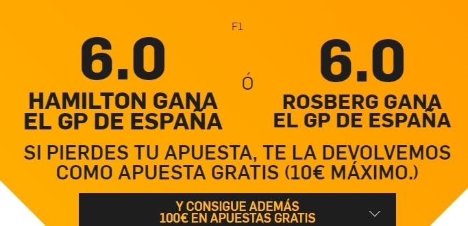 supercuota betfair formula 1