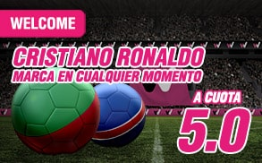 Supercuota Wanabet Ronaldo