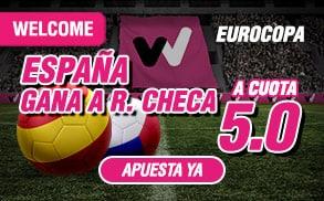 Supercuota Eurocopa España gana Rep Checa