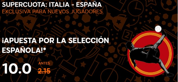 Supercuota 888sport España - Italia