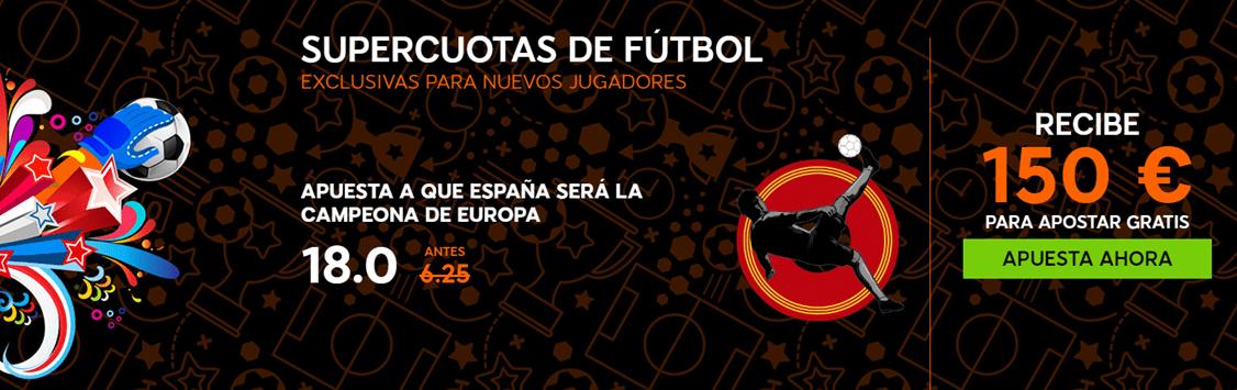 bonos de apuestas 888sport España Eurocopa