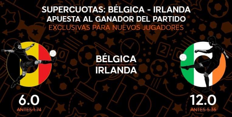 supercuota 888sport belgica-irlanda