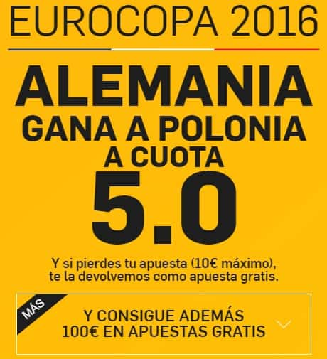 supercuota betfair alemania