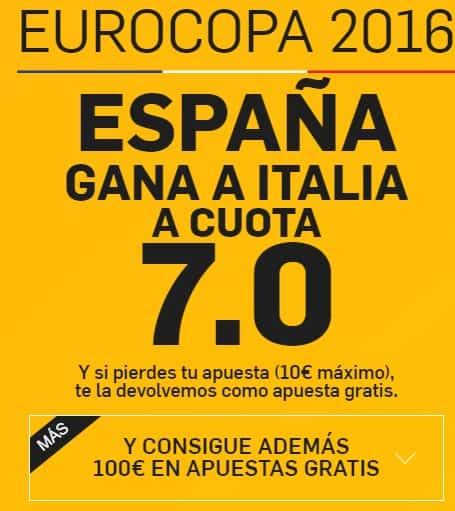 bonos de apuestas betfair espana-italia