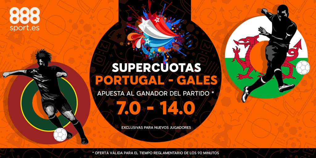 Supercuota 888sport Portugal - Gales