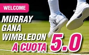 supercuota wanabet Murray Wimbledon
