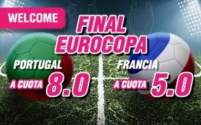 apuestas wanabet final Eurocopa
