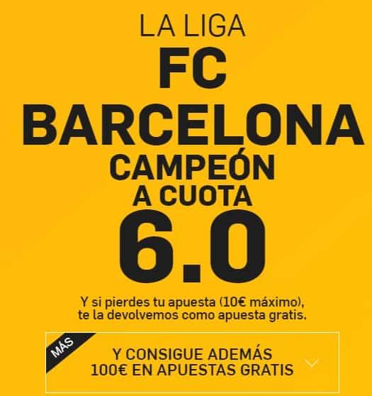 Supercuota barcelona campeón betfair.es