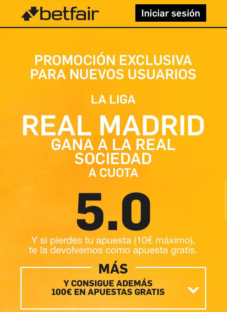 promocion la liga real madrid