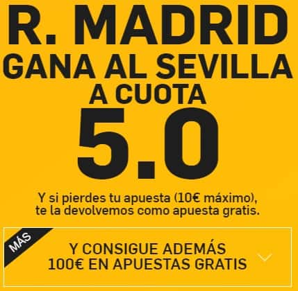 supercuota supercuota real madrid gana a cuota 5
