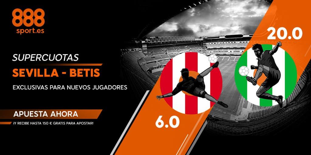 supercuota 888sport sevilla - Betis
