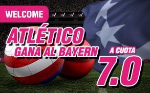 supercuota wanabet Champions League Atlético cuota 7