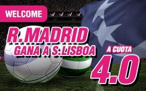 Supercuota Wanabet Real Madrid