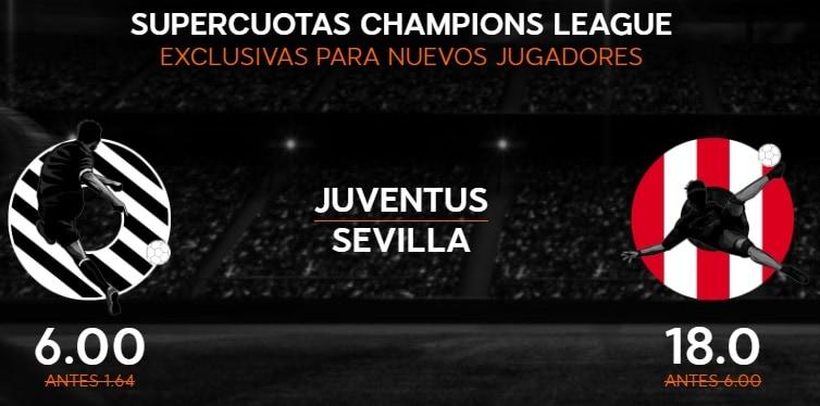 supercuota 888sport champions league Sevilla