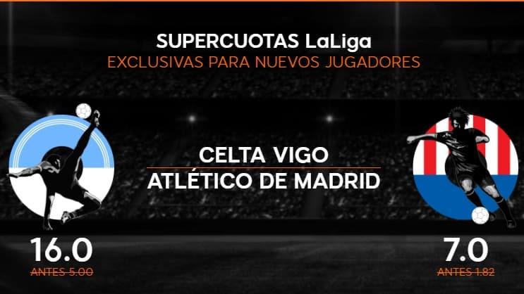 Supercuota 888sport Celta - Atlético