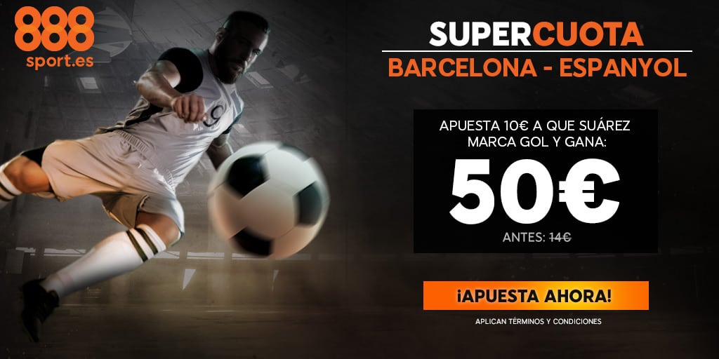supercuota 888sport Barcelona - Espanyol