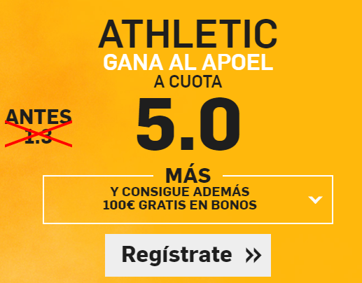 Supercuota Betfair Athletic