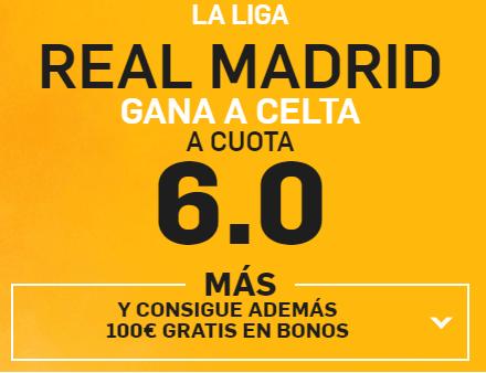 Supercuota Betfair Real Madrid