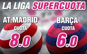 supercuota la liga barcelona wanabet