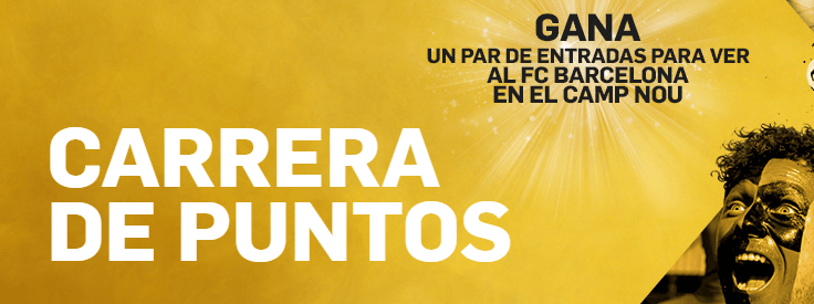Betfair carrera de puntos