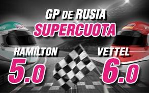 Supercuota Formula 1 Wanabet GP_Rusia
