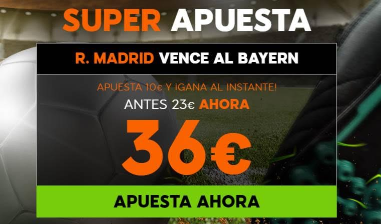 Supercuota 888Sport Madrid Bayern