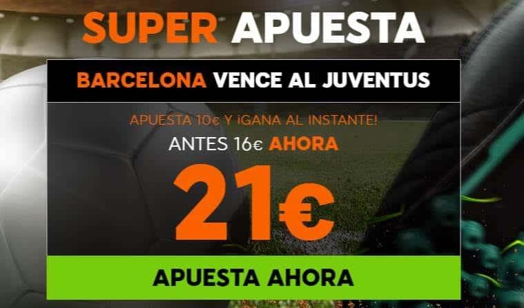 Supercuota 888sport Barcelona Juventus