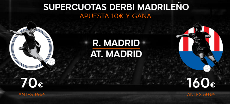Supercuota 888sport R Madrid At Madrid