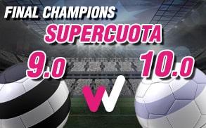 Supercuota Wanabet Final Champions