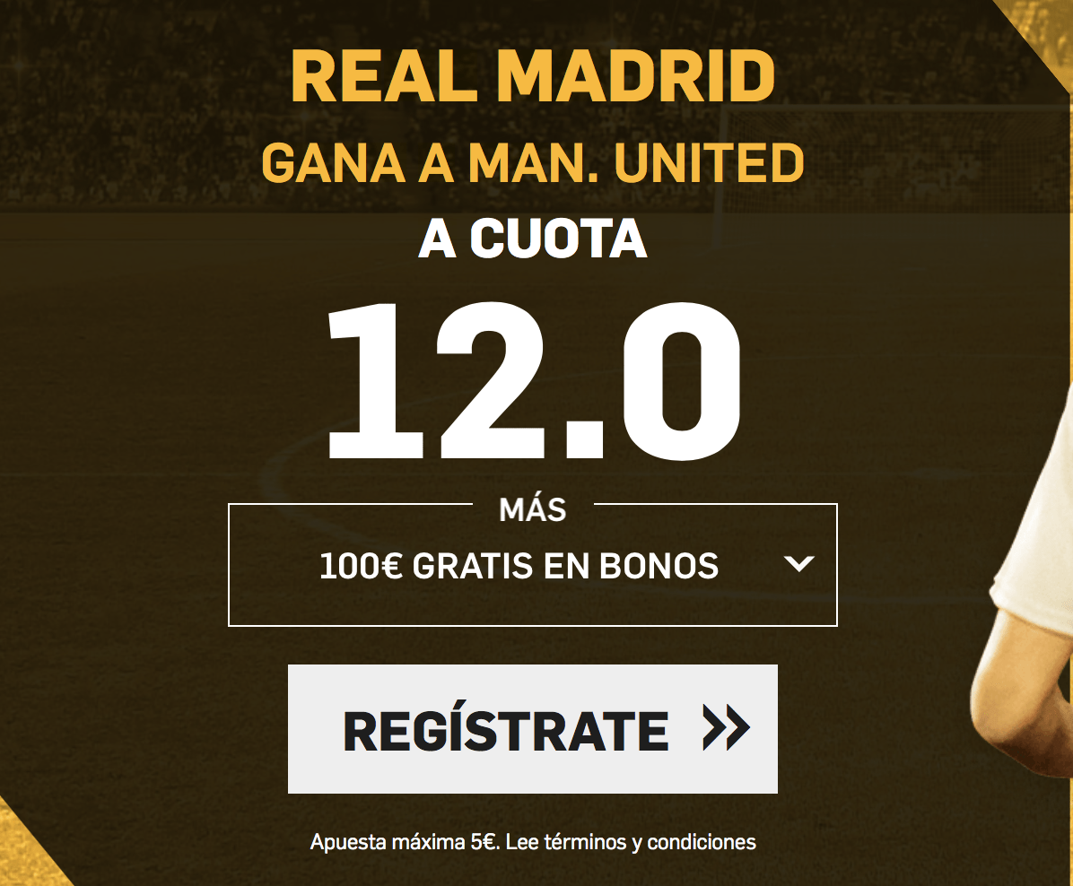 supercuota betfair supercopa Europa