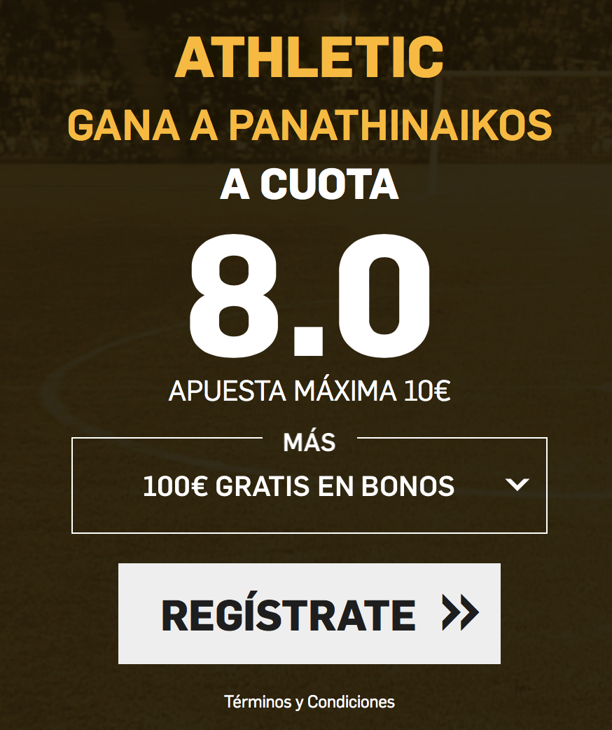 supercuota betfair Europa League Athletic