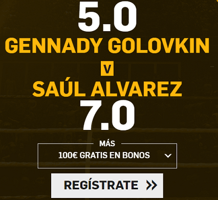 Supercuota Betfair Gennady vs Saul