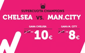 Supercuota Premier League - Chelsea vs Man City