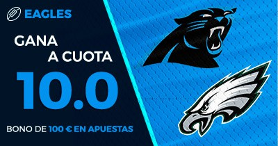 Supercuota Paston NFL - Eagles gana a cuota 10.0