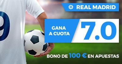 Supercuota Paston la Liga - Real Madrid gana a Girona FC cuota 7.0