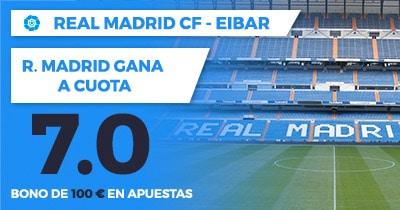 Supercuota Paston la liga - Real Madrid Eibar