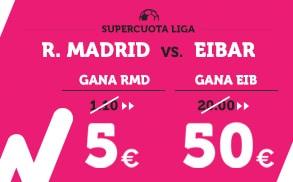 Wanabet Supercuota Liga - R. Madrid vs Eibar