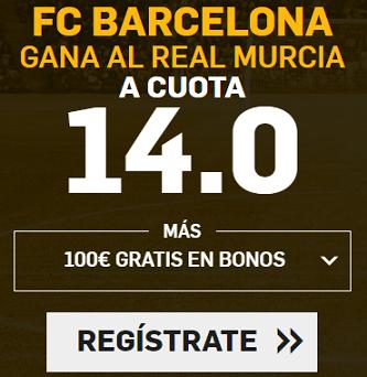 Supercuota Betfair Copa del Rey FC Barcelona - Murcia