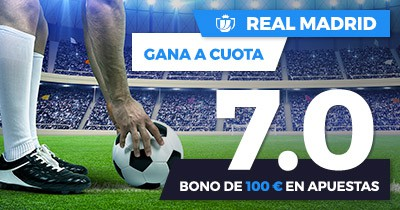 Supercuota Paston Copa del Rey Real Madrid - Fuenlabrada