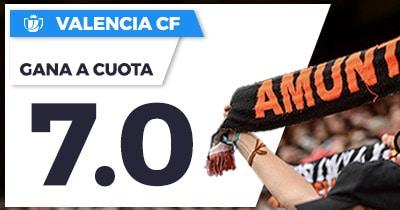 Supercuota Paston Copa del Rey Valencia CF Zaragoza
