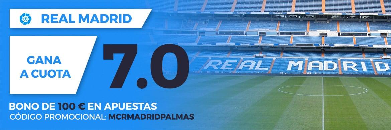 Supercuota Paston la Liga - Real Madrid vs Las Palmas