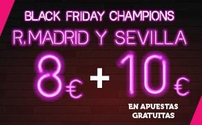 Supercuota Wanabet R. Madrid vs Sevilla