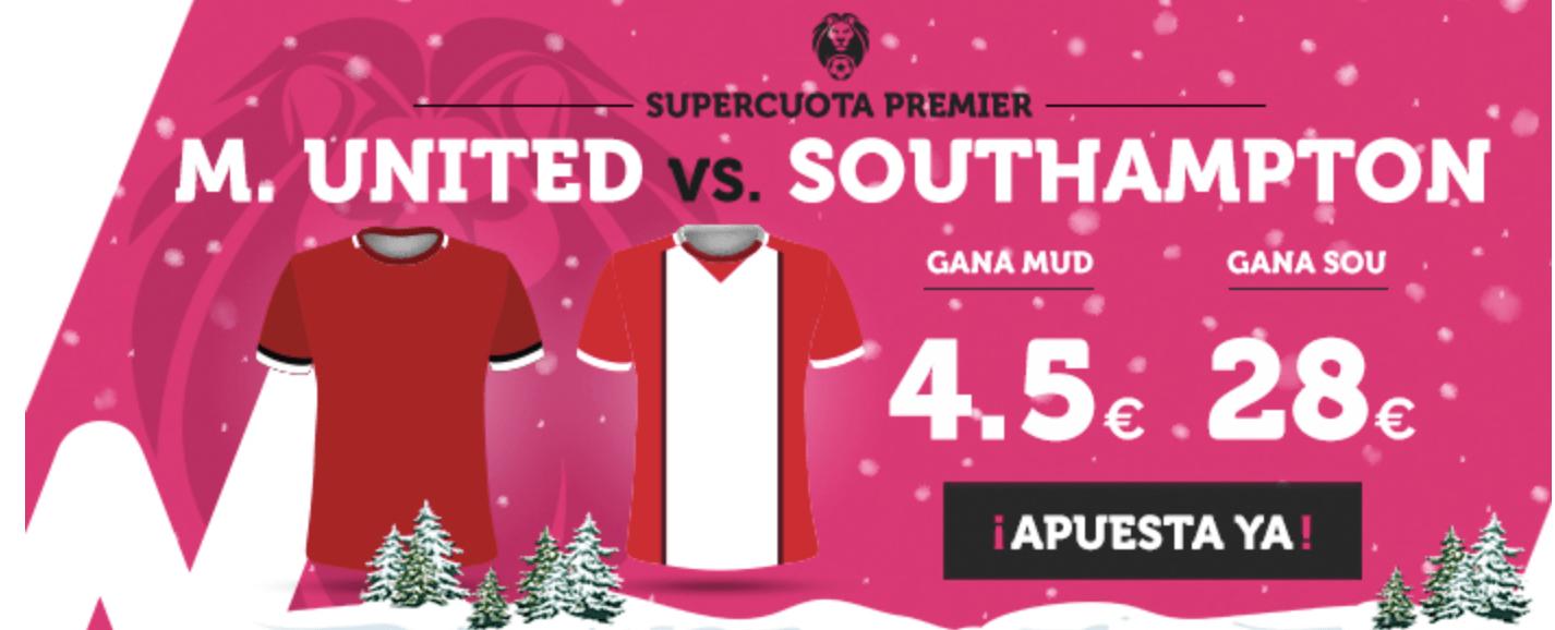 Supercuota Wanabet Man United