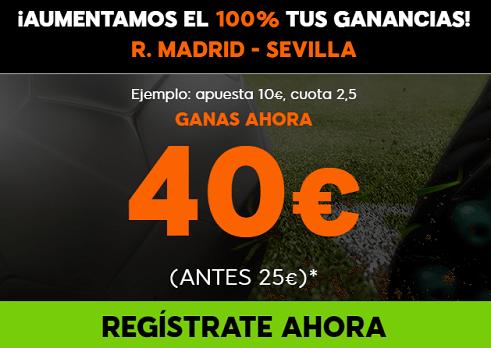Supercuota 888sport la liga R. Madrid - Sevilla, Barcelona - Villarreal