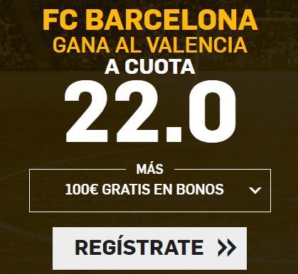 Supercuota Betfair Copa del Rey FC Barcelona - Valencia